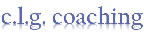CLG Coaching